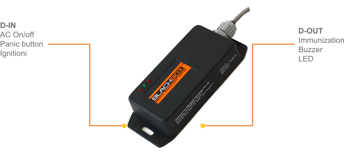 BlackBox TM22 GPS Vehicle Tracker India