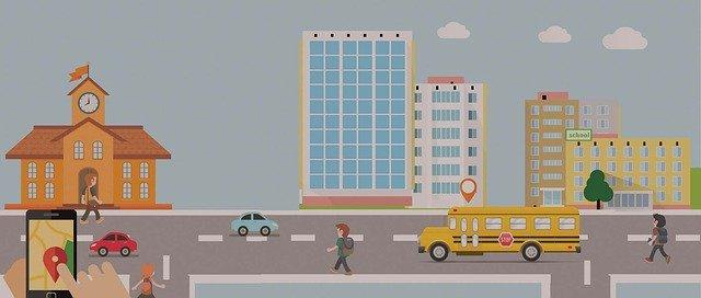 School Transportation Tracking System India